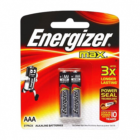 Energizer МАХ Е92 Free AAА /2шт/